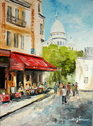 Luke Karcz - Paris Cafe
