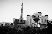 Paris Las Vegas Posters - paris Las Vegas hotel and casino Nevada USA Poster by Joe Fox