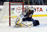 American Hockey League Framed Prints - Pekka Rinne Framed Print by Don Olea
