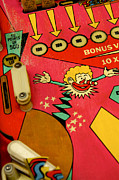 Pinball Machine Print by Bernard Jaubert