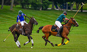 Jerseys Prints - Polo Match Print by Richard Marquardt