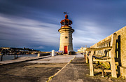 Port Kent Prints - Ramsgate lighthouse Print by Ian Hufton