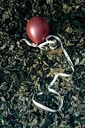 Red Balloon Print by Joana Kruse