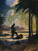 1920 Framed Prints - Robinson Crusoe, 1920 Framed Print by Granger