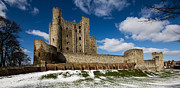 Rochester Prints - Rochester Castle Print by Dawn OConnor
