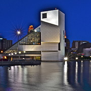 Rock And Roll Art - Rock and Roll Hall of Fame by Robert Harmon