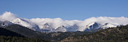 Longs Peak Photos - Rocky Mountain National Park - Estes Park Colorado by Brian Harig