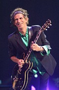Keith Richards Photo Framed Prints - Rolling Stones Framed Print by Front Row  Photographs