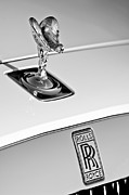 Rolls Posters - Rolls-Royce Hood Ornament Poster by Jill Reger