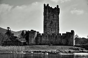 Evening Scenes Photo Framed Prints - Ross Castle  Framed Print by Aidan Moran