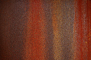 Metallic Prints - Rusty Background Print by Carlos Caetano