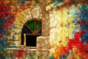 Medieval Temple Prints - Saidpur Village Print by Catf