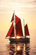 Sail Photographs Prints - Sailing ship Print by Anonymous