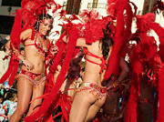 Carnival Photos - Samba Carnival Joy by Lusoimages  