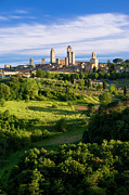 Medieval City Photos - San Gimignano by Brian Jannsen