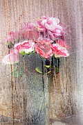 Floral Metal Prints - San Juan Puerto Rico Artificial Flower Arrangement 2011 Metal Print by John Hanou