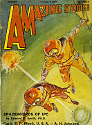 Amazing Stories Posters - Sci-fi Magazine Cover 1931 Poster by Granger
