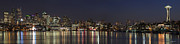 Yefim Bam - Seattle Skyline On Lake...