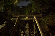 Koya Framed Prints - Shinto gate at Okunoin graveyard Framed Print by Ruben Vicente