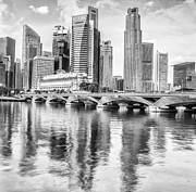 Bund Photos - Singapore financial district by Anek Suwannaphoom