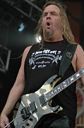 Slayer Prints - Slayer Jeff Hanneman Print by Jenny Potter