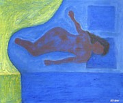 Figurative Paintings - Sleeper by Patrick J Murphy