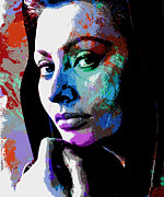Italian Actress Digital Art - Sophia Loren by Allen Glass