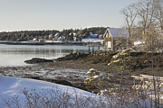 South Bristol On The Coast Of Maine Print by Keith Webber Jr
