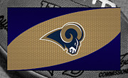 Rams Metal Prints - St Louis Rams Metal Print by Joe Hamilton