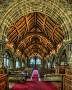 Stained Glass Windows Photos - St Marys by Ian Mitchell
