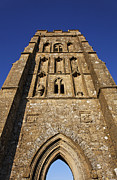 Tor Prints - St Michaels Tower Glastonbury Tor Print by Robert Preston