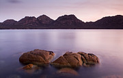 Freycinet Posters - Sunset Coast Poster by Tim Hester