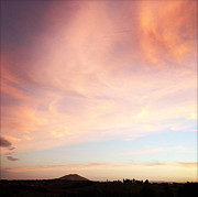 Bright Sky Prints - Sunset Print by Les Cunliffe