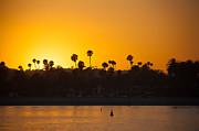 Sunset Santa Barbara Print by Ralf Kaiser