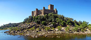 Battlement Prints - Templar Castle of Almourol Print by Jose Elias - Sofia Pereira
