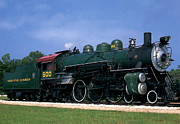 Ruth Housley Metal Prints - Texas State Railroad Metal Print by Ruth  Housley
