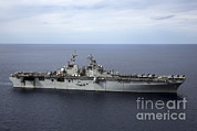 Featured Art - The Amphibious Assault Ship Uss by Stocktrek Images