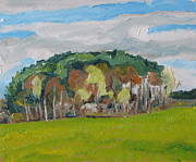 Impressionism Originals - The Bosquet  by Francois Fournier