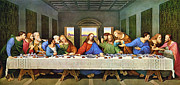 Gospel Prints - The Last Supper Print by Leonardo Da Vinci