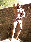 Black Is Beautiful Prints - The Male Physique Print by Jake Hartz