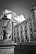 Lamppost Framed Prints - Tower of London Framed Print by Elena Elisseeva
