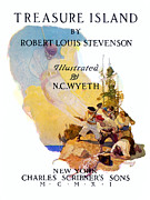 N.C. Wyeth Posters - Treasure Island, 1911 Poster by Granger