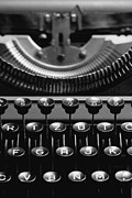 Typewriter Keys Photo Posters - Typewriter Poster by Falko Follert
