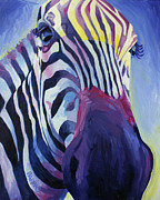 Zebra Face Prints - Untitled Print by Julia Pappas
