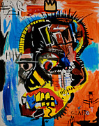 Basquiat Posters - Untitled Poster by Kim Bell Jr