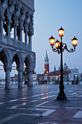 Piazza San Marco Framed Prints - Venice Dawn Framed Print by Brian Jannsen
