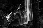 White River Photos - Vernal Falls by Cat Connor