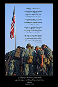 Veterans Posters - Veterans Remember Poster by Carolyn Marshall