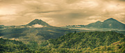 Nature Scene Prints - Volcano Batur Print by MotHaiBaPhoto Prints