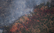 Law Enforcement Prints - Waldo Canyon Wildfire Print by John Wark